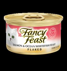 FANCY FEAST FLAKED SALMON & OCEAN FISH 3OZ CASE OF 24