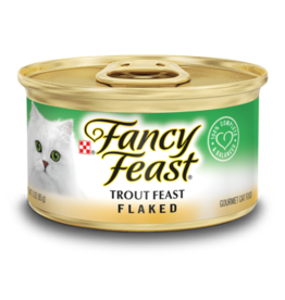 FANCY FEAST FLAKED TROUT 3OZ CAN