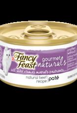 FANCY FEAST GOURMET NATURALS TENDER BEEF PATE 3OZ