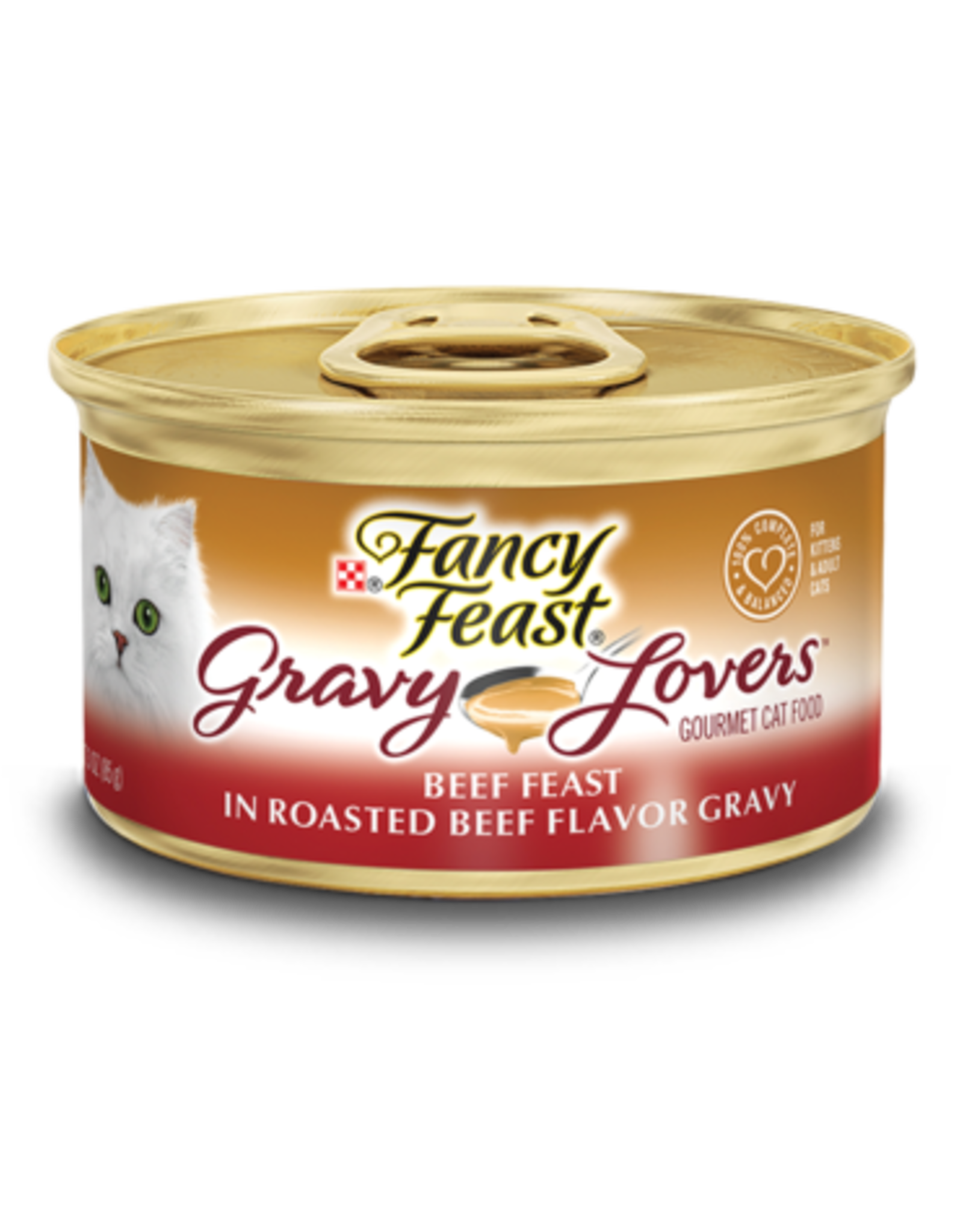 FANCY FEAST GRAVY LOVERS BEEF 3OZ CAN
