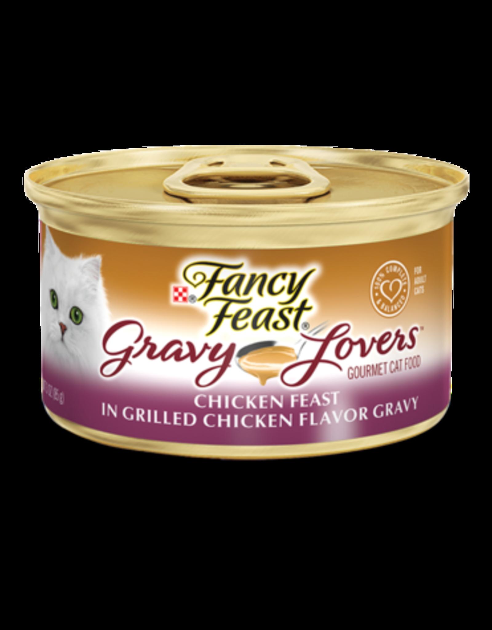 FANCY FEAST GRAVY LOVERS CHICKEN 3OZ CASE OF 24