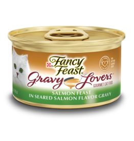 FANCY FEAST GRAVY LOVERS SALMON 3OZ CAN