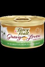 FANCY FEAST GRAVY LOVERS SALMON 3OZ CASE OF 24