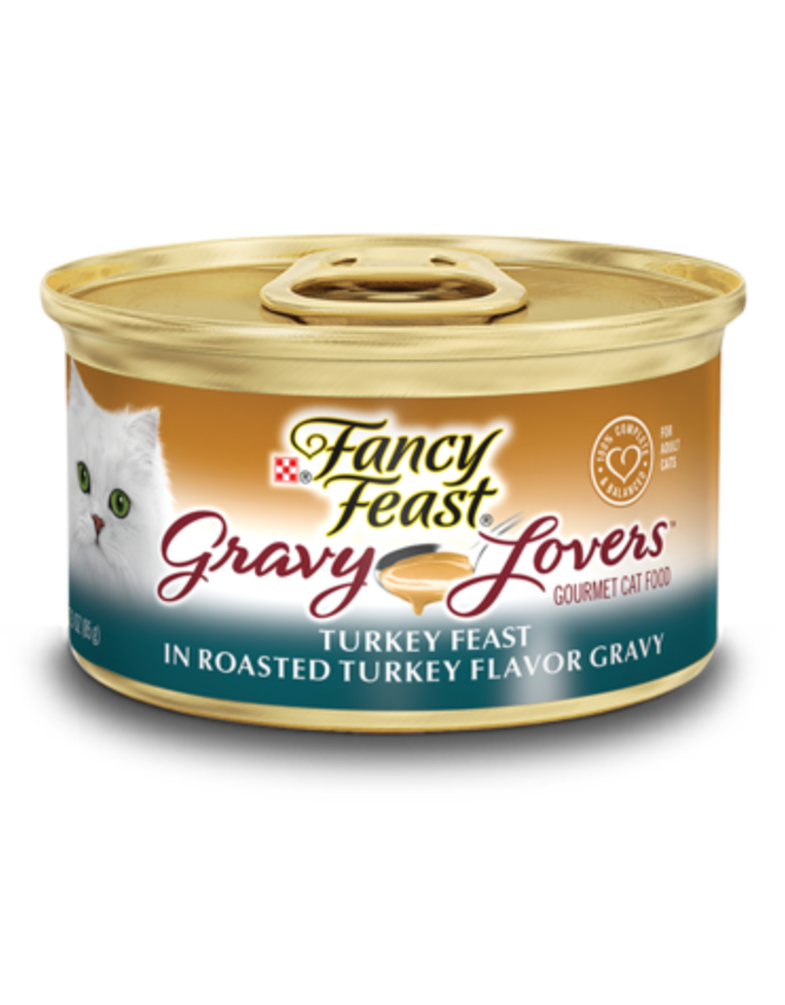 FANCY FEAST GRAVY LOVERS TURKEY 3OZ CAN