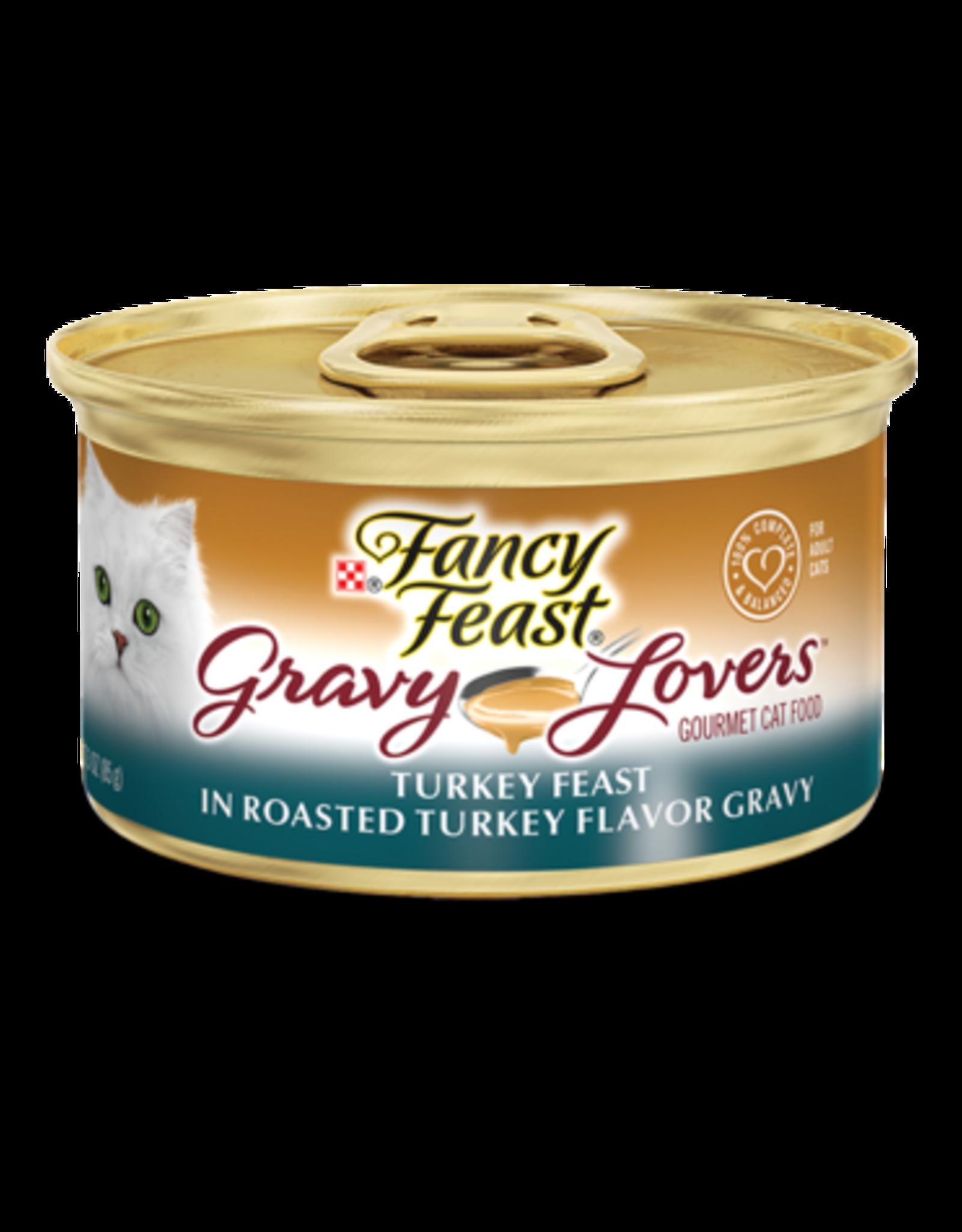 FANCY FEAST GRAVY LOVERS TURKEY 3OZ CASE OF 24