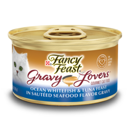 FANCY FEAST GRAVY LOVERS WHITEFISH 3OZ CASE OF 24