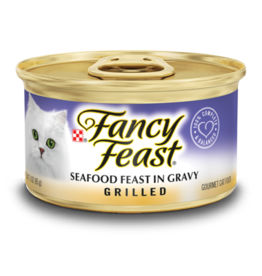 FANCY FEAST GRILLED SEAFOOD 3OZ CASE OF 24