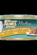 FANCY FEAST MEDLEYS CHICKEN FLORENTINE PATE CAN 3OZ
