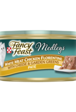 FANCY FEAST MEDLEYS CHICKEN FLORENTINE PATE CAN 3OZ CASE OF 24