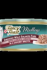 FANCY FEAST MEDLEYS SHREDDED SALMON 3OZ CASE OF 24