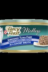 FANCY FEAST MEDLEYS SHREDDED TUNA 3OZ CAN