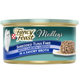 FANCY FEAST MEDLEYS SHREDDED TUNA 3OZ CAN
