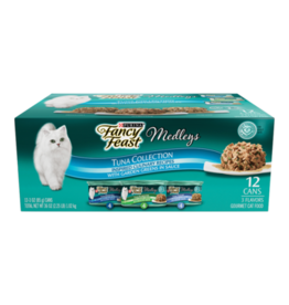 FANCY FEAST MEDLEYS TUNA COLLECTION CANS 12 PACK