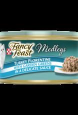 FANCY FEAST MEDLEYS TURKEY FLORENTINE 3OZ CASE OF 24