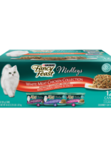 FANCY FEAST MEDLEYS WHITE MEAT CHICKEN COLLECTION CANS 12 PACK