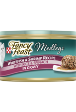FANCY FEAST MEDLEYS WHITEFISH & SHRIMP 3OZ CAN