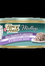 FANCY FEAST MEDLEYS WILD SALMON FLORENTINE 3OZ CAN
