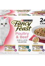 FANCY FEAST POULTRY & BEEF GRILLED VARIETY CANS 24 PACK