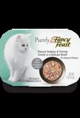 FANCY FEAST PURELY BASS & SHRIMP 2OZ