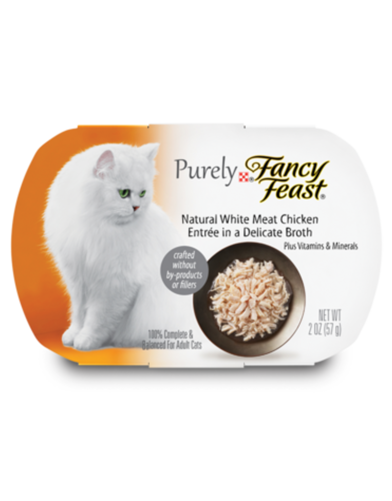 FANCY FEAST PURELY CHICKEN IN BROTH 2OZ