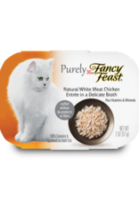 FANCY FEAST PURELY CHICKEN IN BROTH 2OZ CASE OF 10
