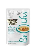 FANCY FEAST CREAMY BROTHS CHICKEN & VEGETABLES 1.4OZ CASE OF 16