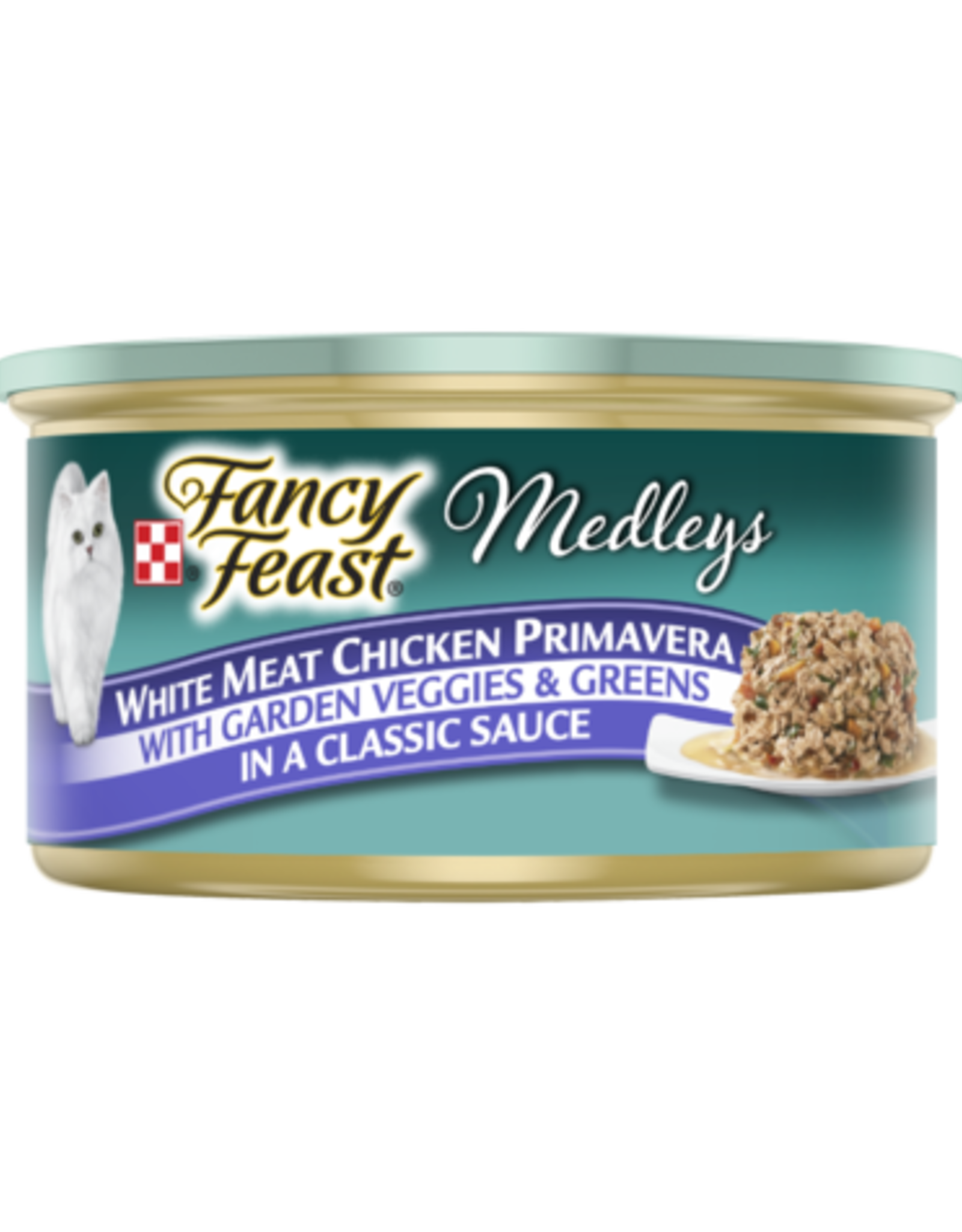 FANCY FEAST MEDLEYS CHICKEN PRIMAVERA 3OZ CASE OF 24