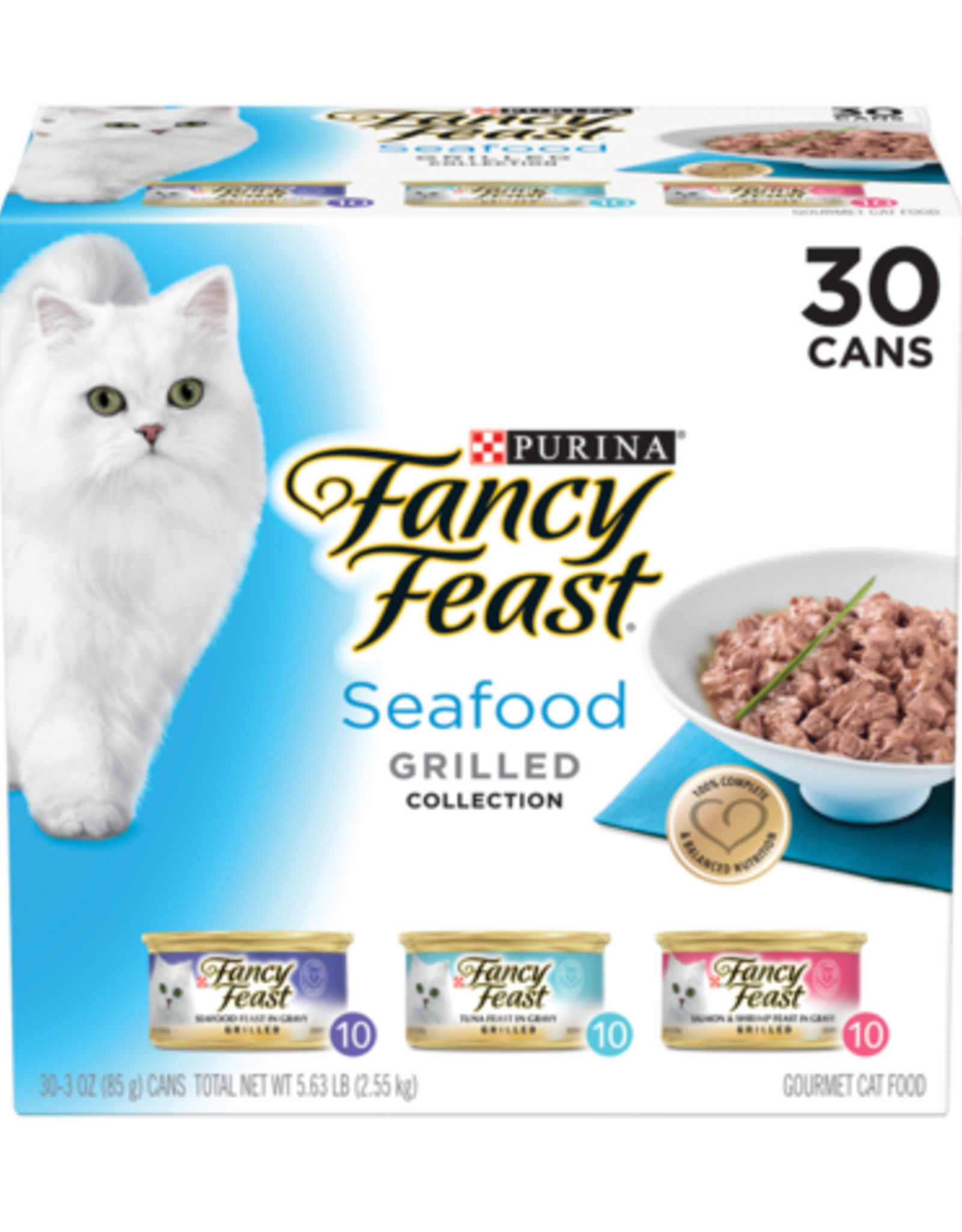 FANCY FEAST SEAFOOD GRILLED VARIETY CANS 24 PACK