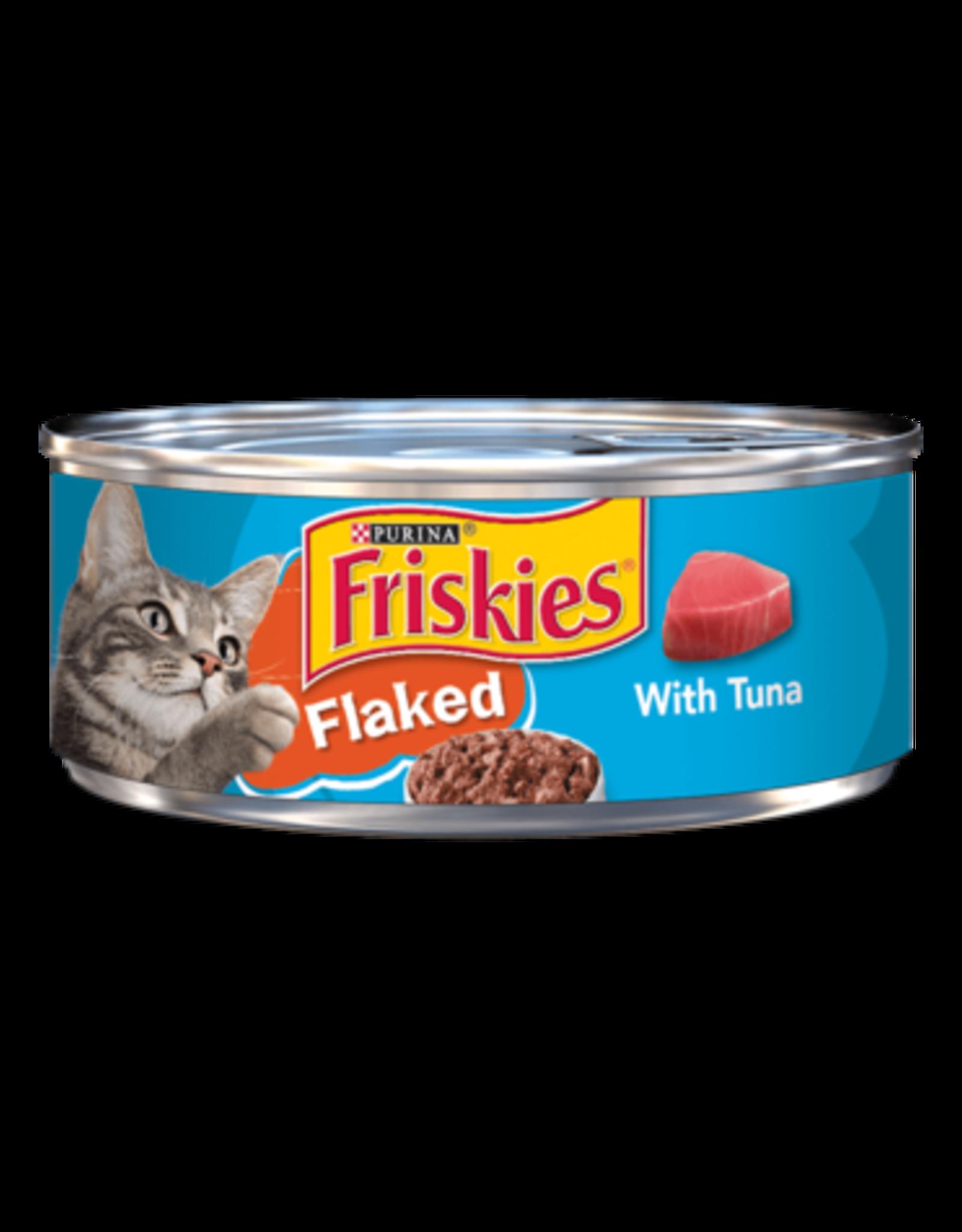 FRISKIES CAT FLAKED W/ TUNA 5.5OZ CASE OF 24