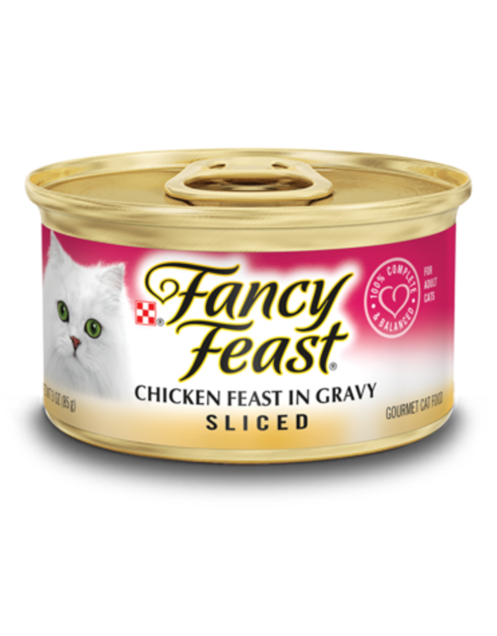 FANCY FEAST SLICED CHICKEN 3OZ CAN