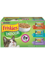 FRISKIES CAT INDOOR 5.5 OZ VARIETY PACK 24CT
