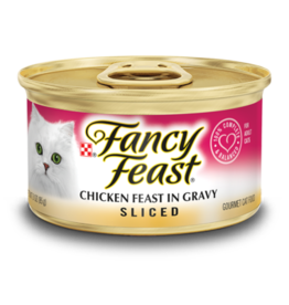 FANCY FEAST SLICED CHICKEN CASE OF 24