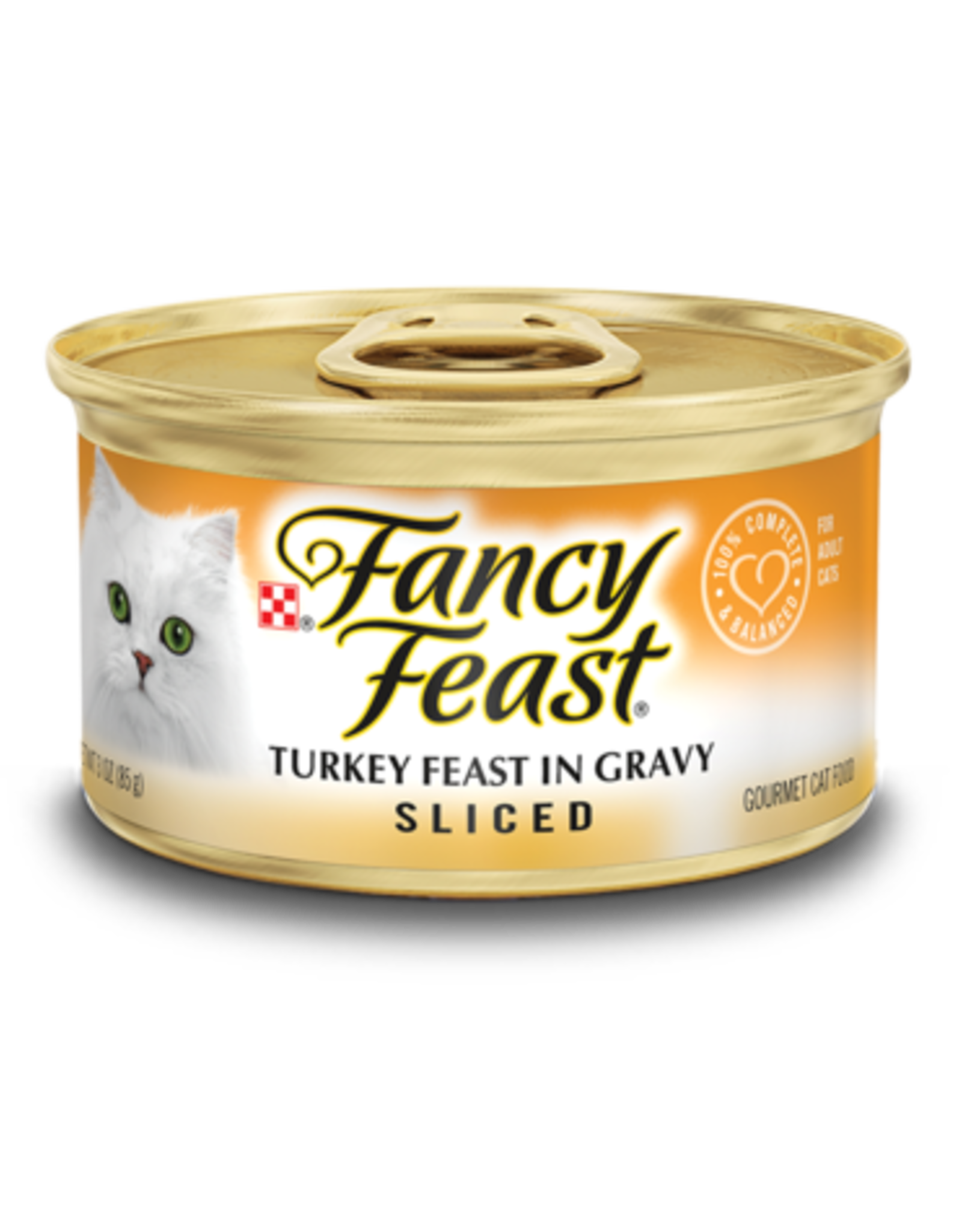 FANCY FEAST SLICED TURKEY 3OZ CAN