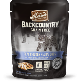 MERRICK PET CARE, INC. MERRICK CAT BACKCOUNTRY CHICKEN CUTS 3OZ CASE OF 24