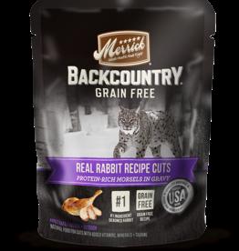 MERRICK PET CARE, INC. MERRICK CAT BACKCOUNTRY RABBIT CUTS POUCH 3 OZ CASE OF 24