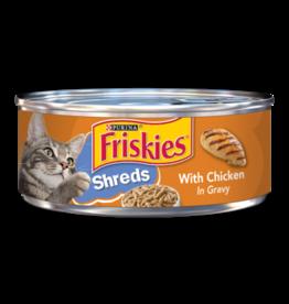 FRISKIES CAT SHREDDED CHICKEN 5.5OZ CASE OF 24