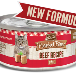 MERRICK PET CARE, INC. MERRICK CAT PURRFECT BISTRO BEEF 3OZ CAN