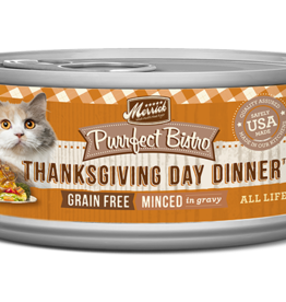 MERRICK PET CARE, INC. MERRICK CAT PURRFECT BISTRO CAN THANKSGIVING DINNER 5.5OZ CASE OF 24
