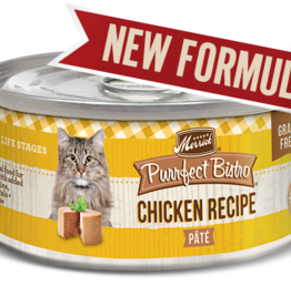 MERRICK PET CARE, INC. MERRICK CAT PURRFECT BISTRO CHICKEN 5.5OZ CASE OF 24