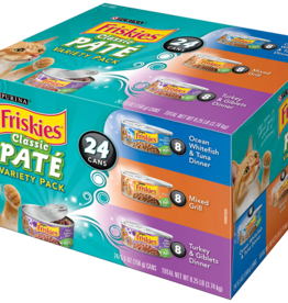 FRISKIES CAT 5.5 OZ VARIETY CLASSIC PATE 24 CANS