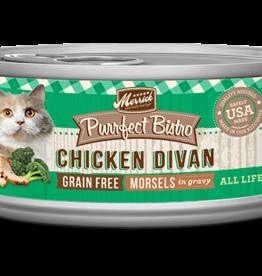 MERRICK PET CARE, INC. MERRICK CAT PURRFECT BISTRO CHICKEN DIVAN 5.5OZ CAN