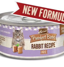 MERRICK PET CARE, INC. MERRICK CAT PURRFECT BISTRO RABBIT PATE 3 OZ
