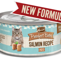 MERRICK PET CARE, INC. MERRICK CAT PURRFECT BISTRO SALMON 5.5OZ CAN
