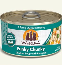 WERUVA INTERNATIONAL, INC. WERUVA CAT FUNKY CHUNKY 5.5OZ CAN