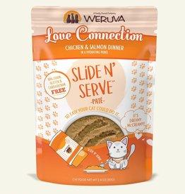 WERUVA INTERNATIONAL, INC. WERUVA CAT SLIDE & SERVE LOVE CONNECTION 5.5OZ