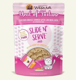 WERUVA INTERNATIONAL, INC. WERUVA CAT SLIDE & SERVE MEAL OF FORTUNE 5.5OZ POUCH
