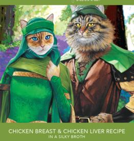 RAWZ AUJOU BY RAWZ CAT CHICKEN & CHICKEN LIVER RECIPE 2.46OZ BOX OF 8