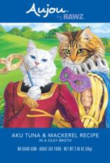 RAWZ AUJOU BY RAWZ CAT TUNA & MACKEREL RECIPE 2.46OZ
