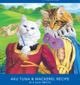 RAWZ AUJOU BY RAWZ CAT TUNA & MACKEREL RECIPE 2.46OZ BOX OF 8