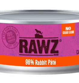 RAWZ RAWZ CAT CAN RABBIT 5.5OZ